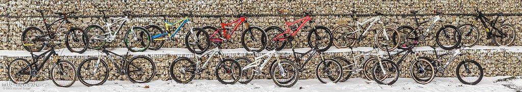 Pro-Bikes: die Arbeitsgeräte von Deutschlands Enduro-Elite