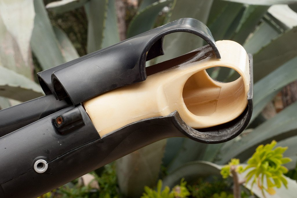 Bergamont Fastlane Carbon - PU Einsatz im Steuerrohr für die Fertigung