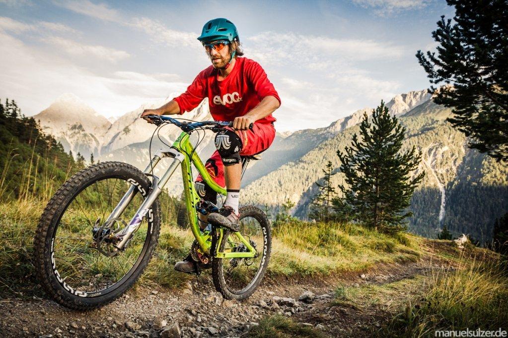 Mit den TRS+ Laufrädern in Tirol.