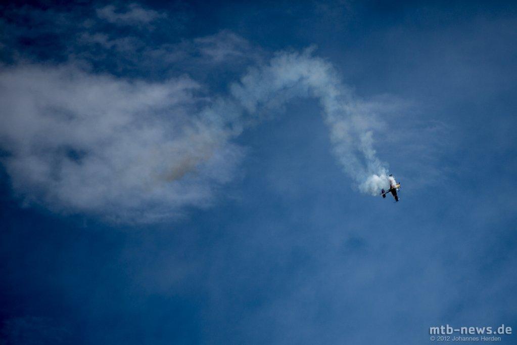 Geplanter Absturz: Der Pilot fing sich wieder...
