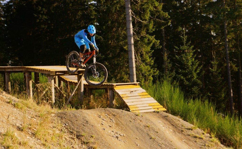 Im Bikepark überzeugt die Trailversion der XO mit Zuverlässigkeit.