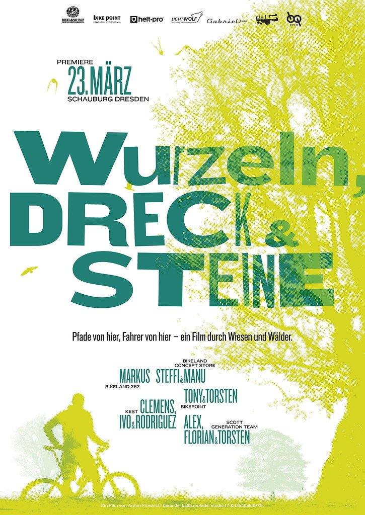 Plakat - Wurzeln, Dreck und Steine