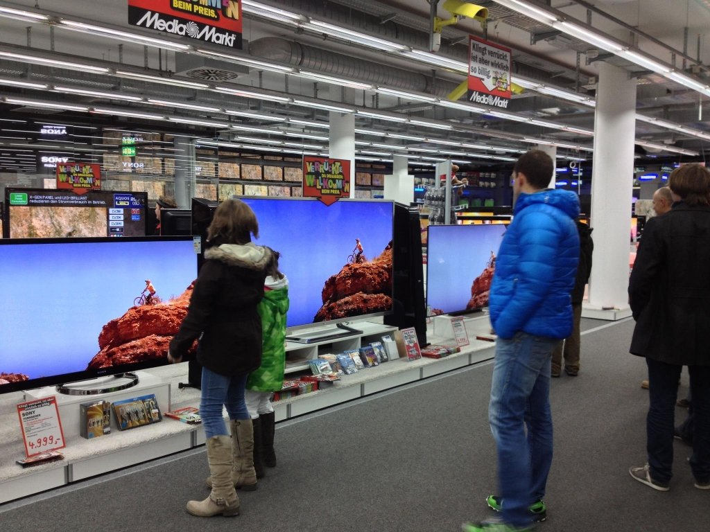 Where The Trail Endes - läuft auch bei Media Markt